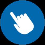 Symbol für leichte Navigation
