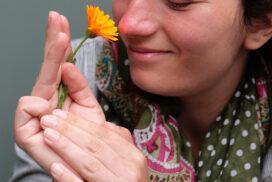 An der Blume riechen - Ellen